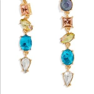 BaubleBar Oriana Gem Drops, Multicolored Earrings